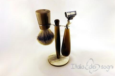 set à barbe de salle de bain boeuf