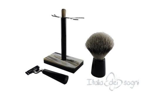 Set à barbe pour salle de bain buffle