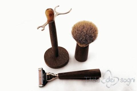 Set à barbe pour salle de bain wenghe