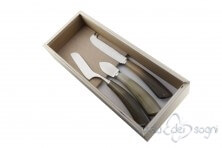 3 piece cheese knives, ox