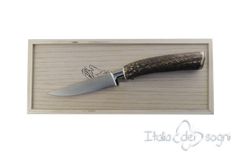 paring knife, deer