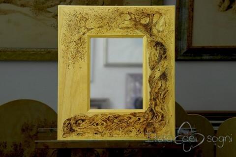 Specchio con cornice