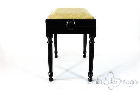 "Klavierbank ""Bellini"" - Samt beige"