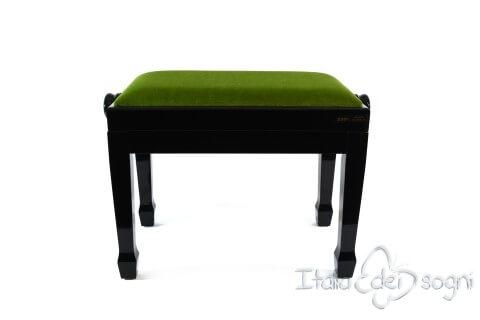 "Klavierbank ""Fiorentino"" - grünem Samt"
